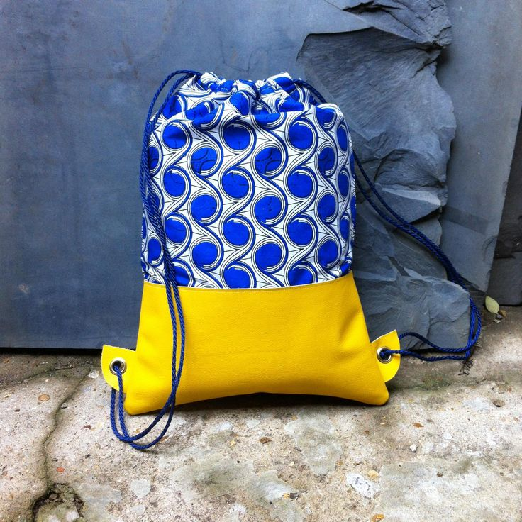 Romantic Yellow Leather Backpack. By Carried Away