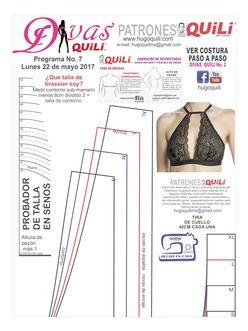 Resultado de imagen para patrones de ropa intima para imprimir