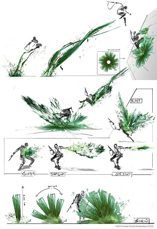 infamous second son concept art - Google Search
