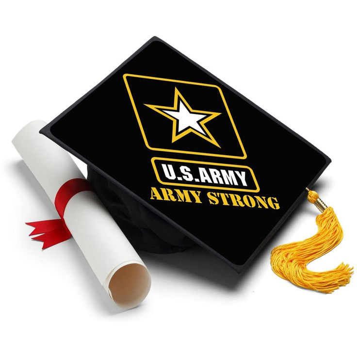 Graduation Cap Topper ™ - Army Strong - Tassel Topper