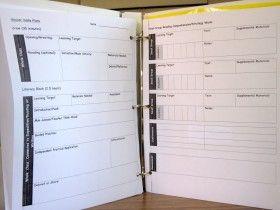 Creating a Teacher Plan Book
