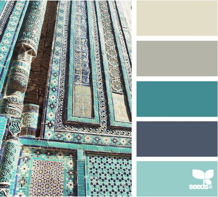 Eastern Turquoise tones - design seeds