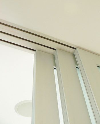 sliding door mechanism for kitchen