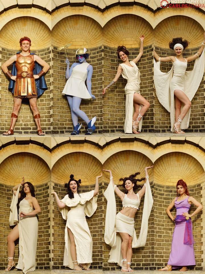 AMAZING Hercules group cosplays