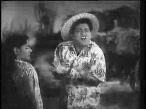 Shola jo bhadke dil mera dhadke - Film: Albela (1951) - Actors Bhagwan Dada and Geeta Bali - Singers: Lata Mangeshkar and C Ramachandra, music by C Ramachandra