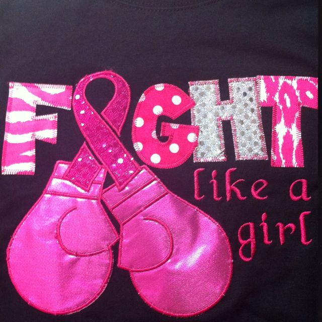 "Breast cancer awareness--one day the word ""cancer"" will not be in our vocabulary!"