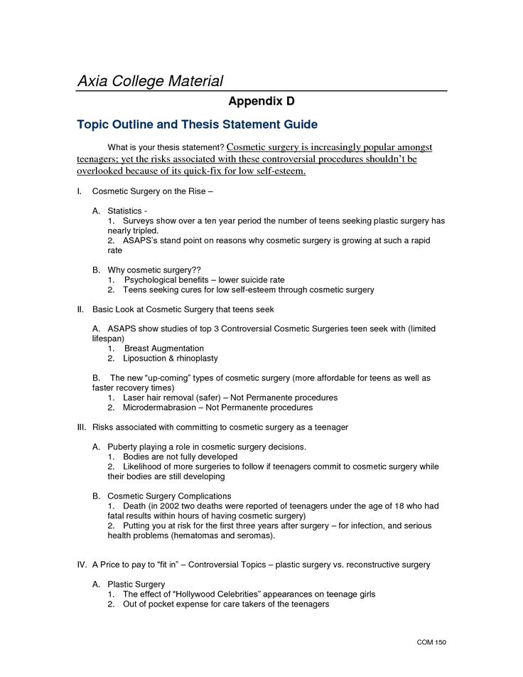 Arguable thesis Persuasion Map 1 2 3 Goal or Thesis - catering proposal templates