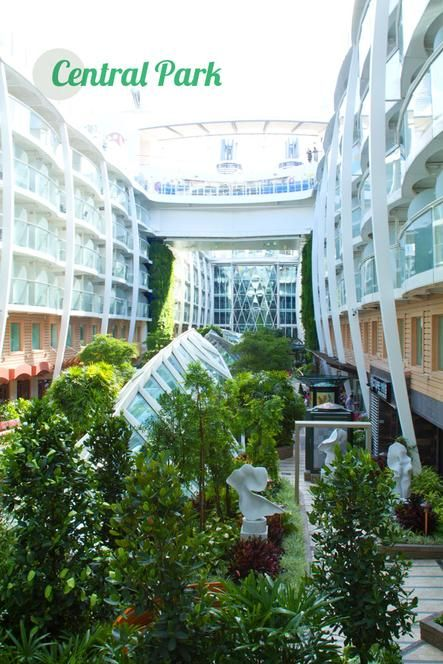 Stroll through Central Park on Oasis of the Seas.: Crui Oasis, Crui Ships, Oasis Class, Central Parks, Oasis Of The Sea, Cruises Ships, Caribbean Oasis, Outdoor Parks, Caribbean 8217 Oasis