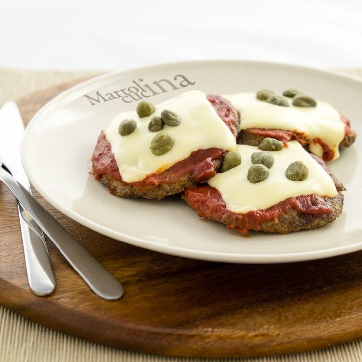 HAMBURGER ALLA PIZZAIOLA  #ricetta #hamburger #cucina #ricettefacili…