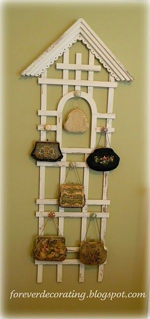 burberry wallets outlet 7dnf  Trellis, glass knobs Use for necklaces, belts, scarves, etc @