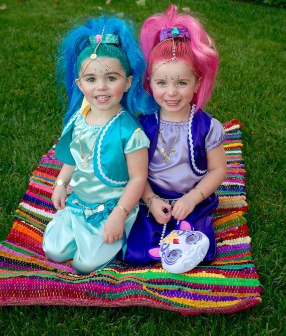 3003a4dc023 Shimmer and shine costume Halloween dress up party shine costume ...