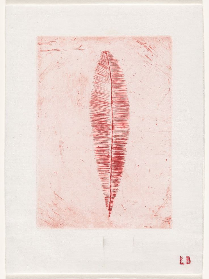 Louise Bourgeois. Feather Thoughts. 2006