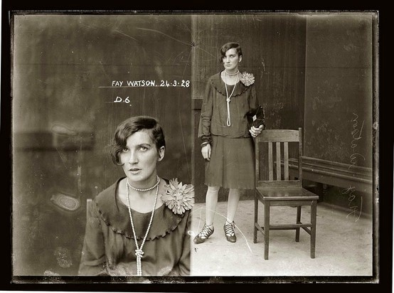 love these 1920's mugshots