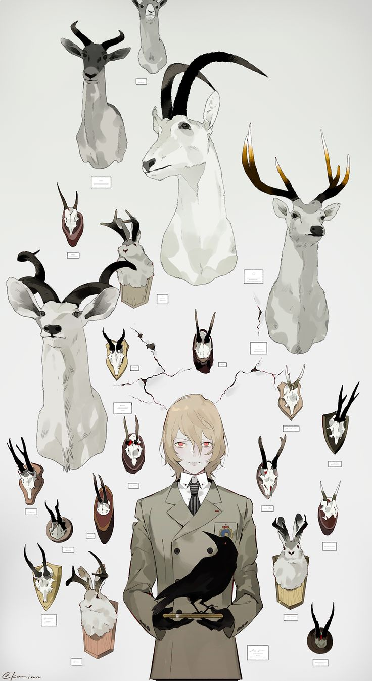 「標本少年【イラストまとめ】」/「kan」の漫画 [pixiv]