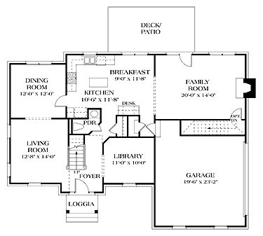 1000 Images About Floor Plans On Pinterest Colonial