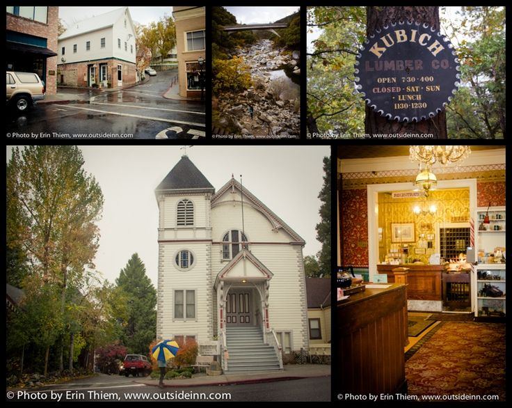 The Hallmark Movie The Christmas Card (one of my favorite Christmas movies of all time) was filmed on location in Nevada City, CA. I hope I make it there someday! :)