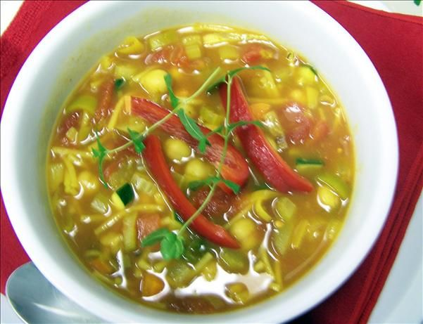 North African Vegetable Soup.
