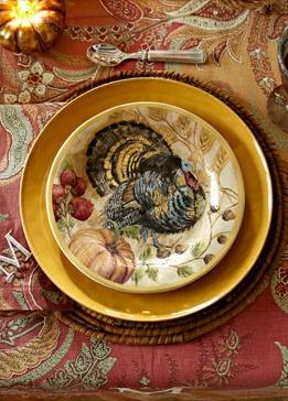 Beautiful Fresco Bird plates.