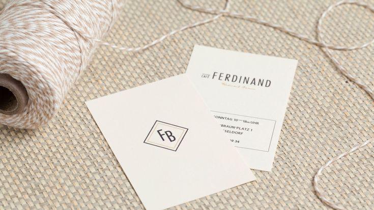 Café Ferdinand–Branding & Interior Design für das Café im neuen Vodafone Flagship Store Hamburg