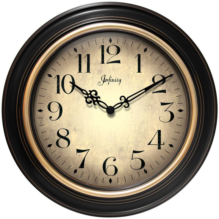 Infinity Instruments Birmingham Wall Clock 14878BG 2732 79