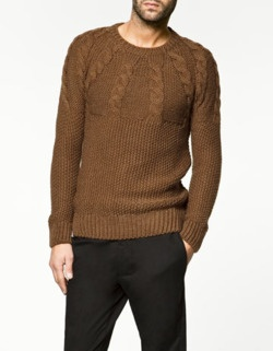 Great knit mens sweater.