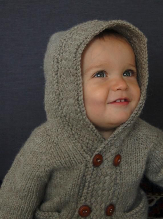 Knitting: Latte Baby Coat I will make this when I have a little one