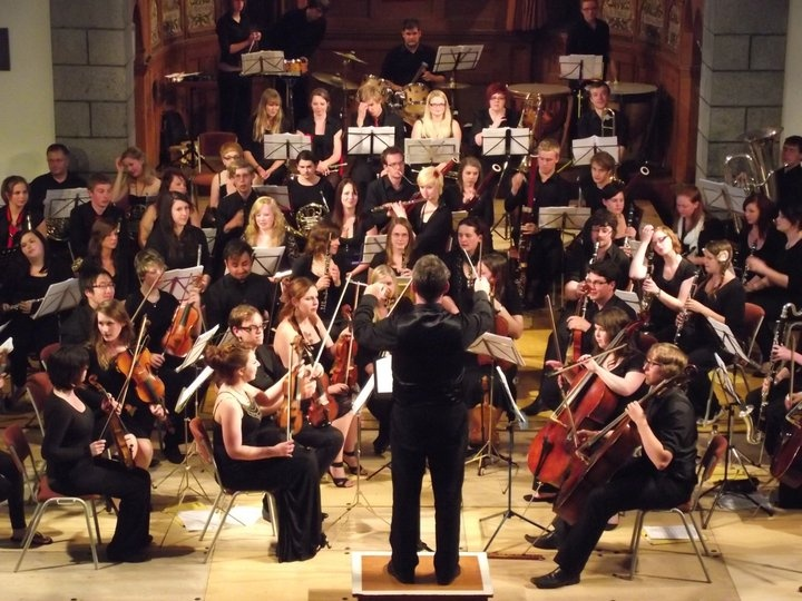 University of Chichester orchestra plays at St James, 25 May 2013