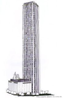 Resultado de imagen de edificio colpatria en dibujo