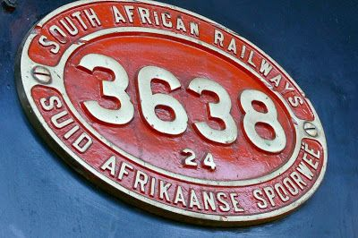 old STEAM LOCOMOTIVES in South Africa: SKUKUZA - Selati Train Restaurant - SAR class 24 no.3638