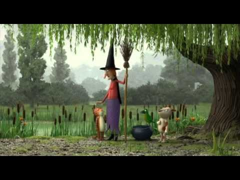 "Animated film based on Julia Donaldson's picture book ""room on the broom"""