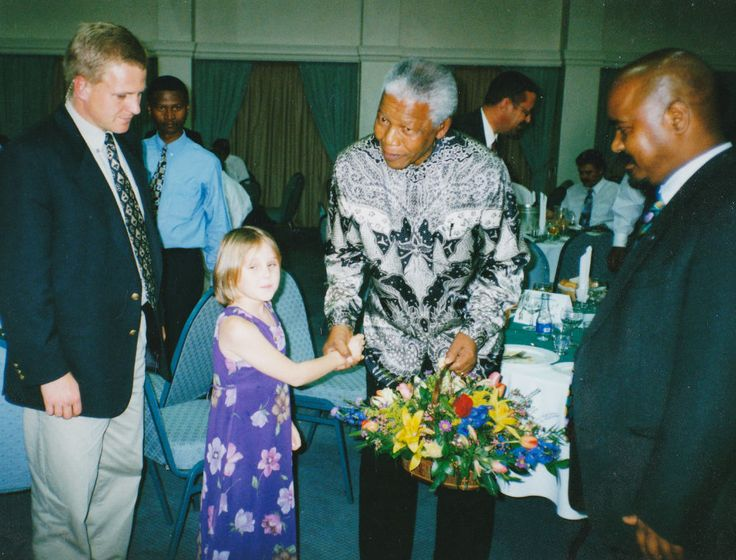 Candice Dean and Madiba. Submitted by Lieutenant Colonel Aaron Dean