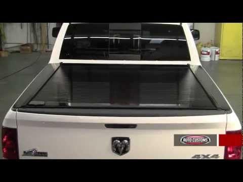 Retrax Pro Retractable Tonneau Cover Review - AutoCustoms.com - YouTube