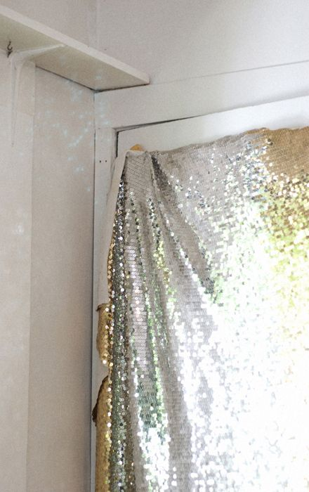 hang up some sequins