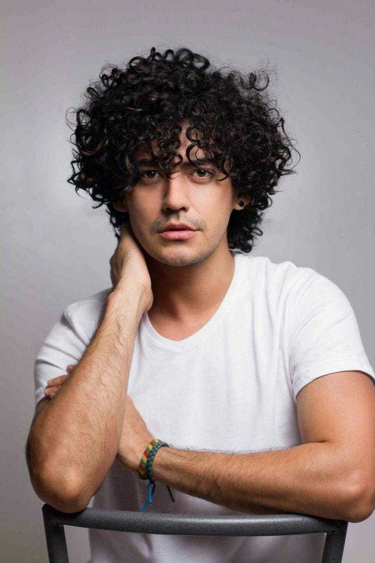 Curly Hair Hairstyles Natural Hair Men Model Hair