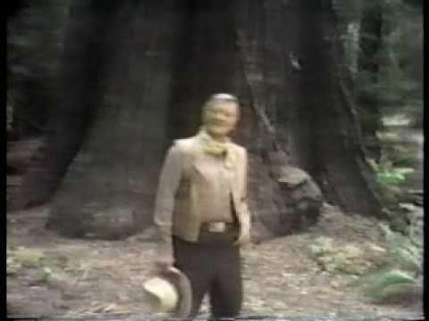 John Wayne - Vidéo d'une des Publicités tournées pour la 'Great Western Bank' en 1978, avec le Stetson du Film le Dernier des Géants en 1976.