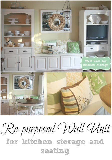 Repurposed Wall Unit Boys Nooks And Cabinets