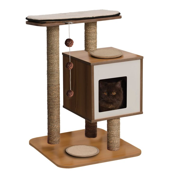 The basic model of the Vesper cat furniture will infuse colour into your life and the life of your cat!