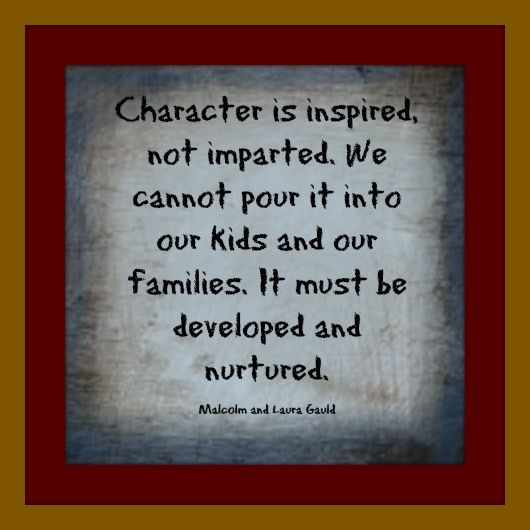 January 2011 Article: Character Education is the Way Forward by, Malcolm and Laura Gauld, Hyde Schools  http://www.strugglingteens.com/artman/publish/CharacterEducationES_110310.shtml