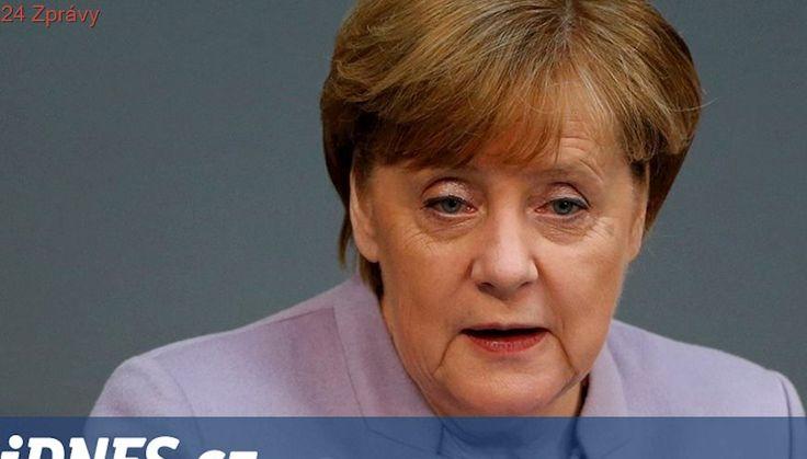 Merkelová je naštvaná na německé automobilky