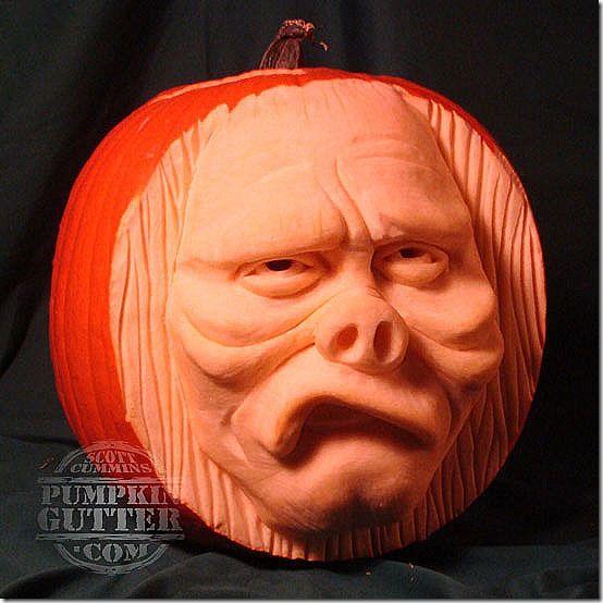 Terrific twilight zone pumpkin carvings carving