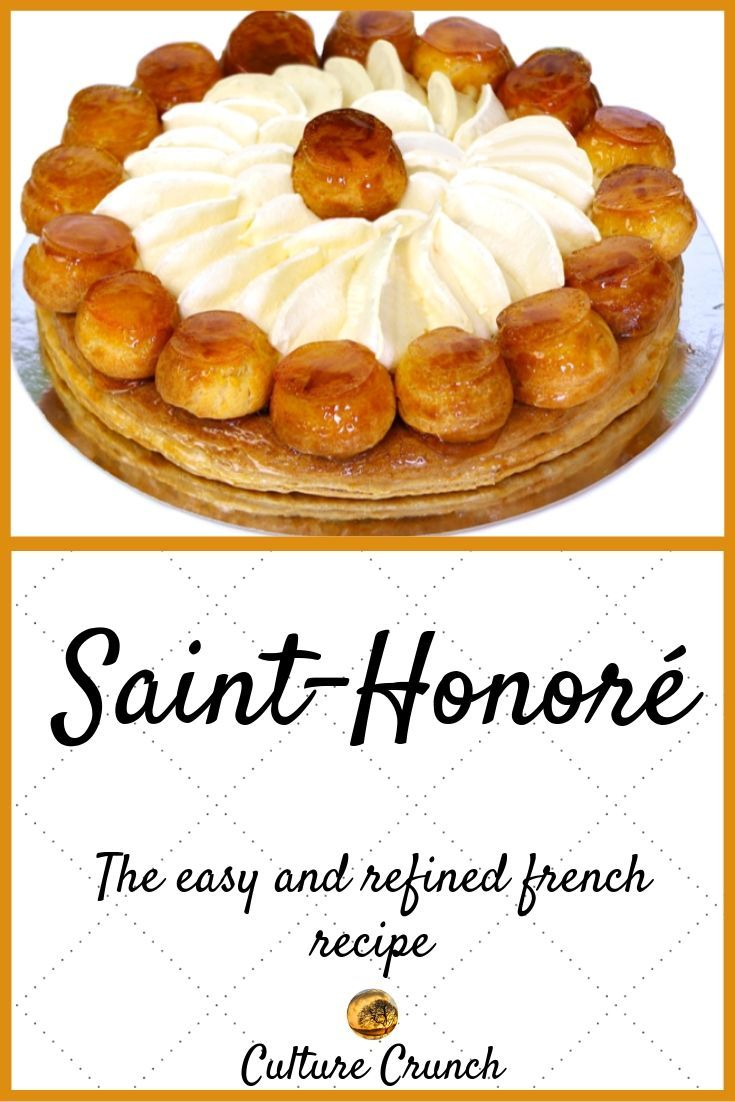 SAINT-HONORÉ : the easy and refined recipe