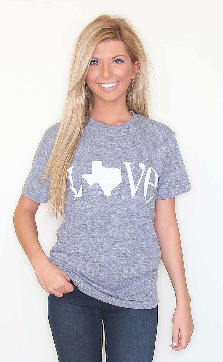 Riffraff   Shop LOVE Texas - grey I WANT IT!