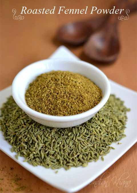 Homemade Roasted Fennel (Saunf) Powder Recipe   How to make Fennel Powder  2 easy steps to make your own aromatic and fresh Fennel (Sanuf) powder