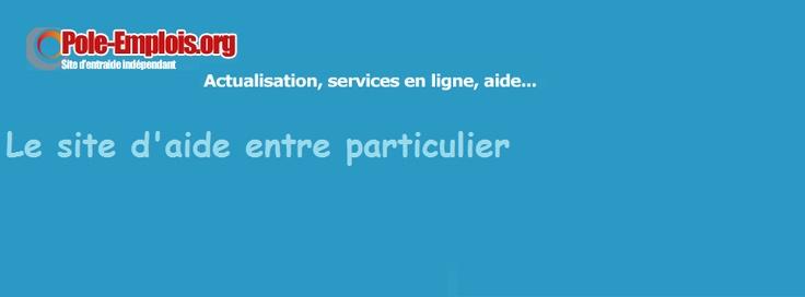 couverture google+ du site d'aide et d'entraide www.pole-emplois.org