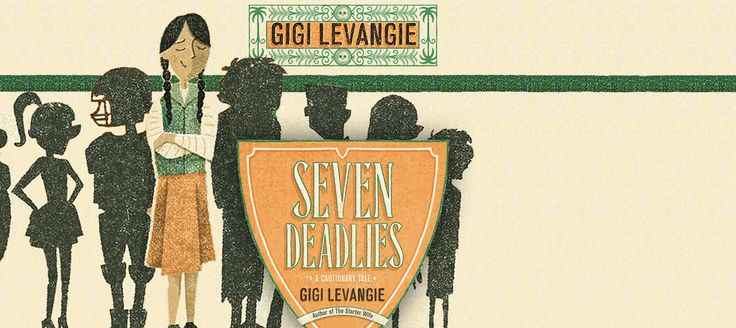 #SevenDeadliesBook  Illustrations by Cecilia Ruiz