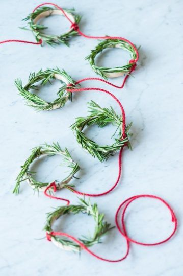 Embrace your crafty side (we know it's in there)! Make one of these seasonal strings with your kids and deck the halls with cheer.