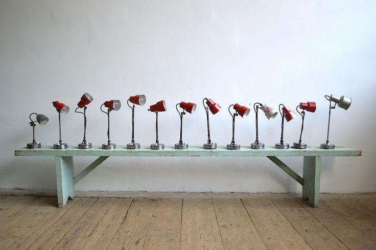 Old sewing machine's lamps (artKRAFT Industrial design)