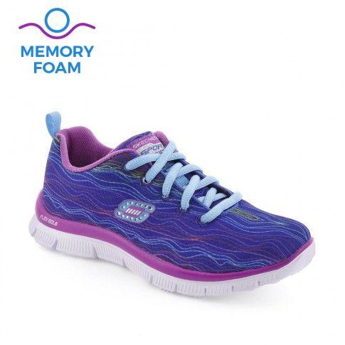Pantofi sport fete Skech Prancy Blue - Skechers