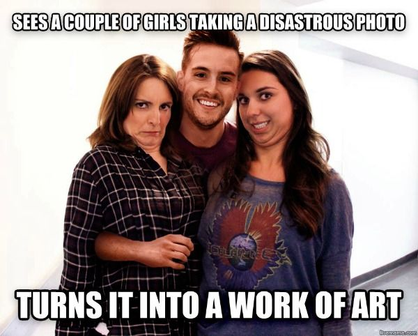Ridiculously Photogenic Guy...I love the Internet