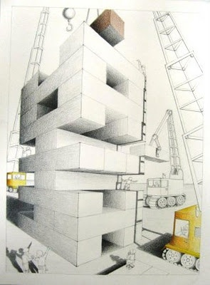 2-Point perspective project